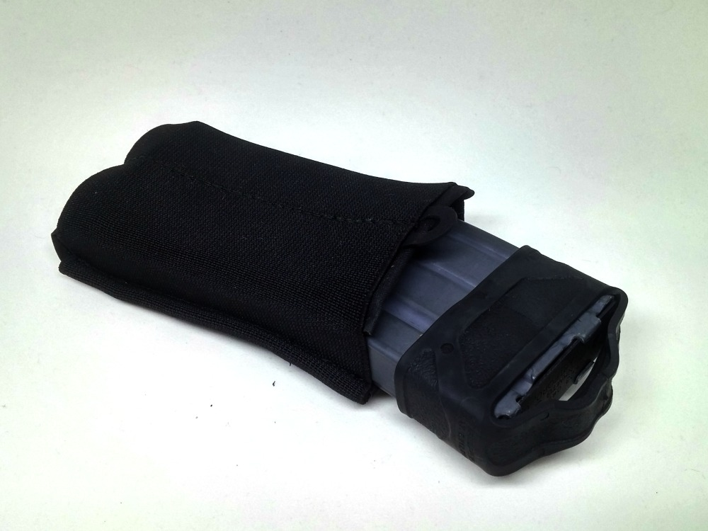 rifle magazine mag pouch black elastic