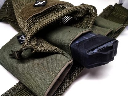 magazine pouch rifle pistol dump tactical ranger green war belt battle duty