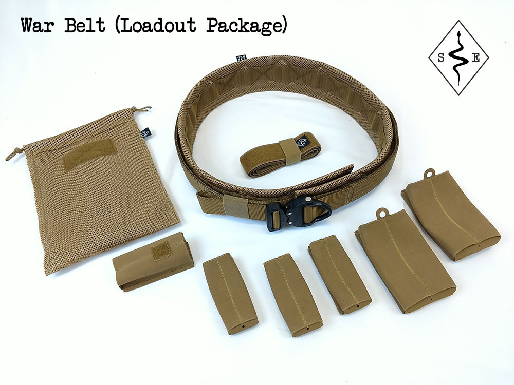 War Belt Loadout Package product photo