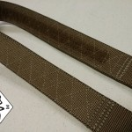 Velcro sewn to the inside of our Cobra Riggers Belt