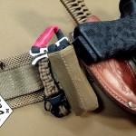 Tourniquet Holder For RATS Tourniquet mounted to a War Belt