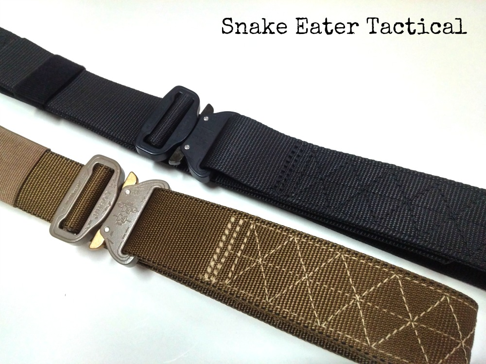 war belt battle tactical duty snake eater competition cobra buckle