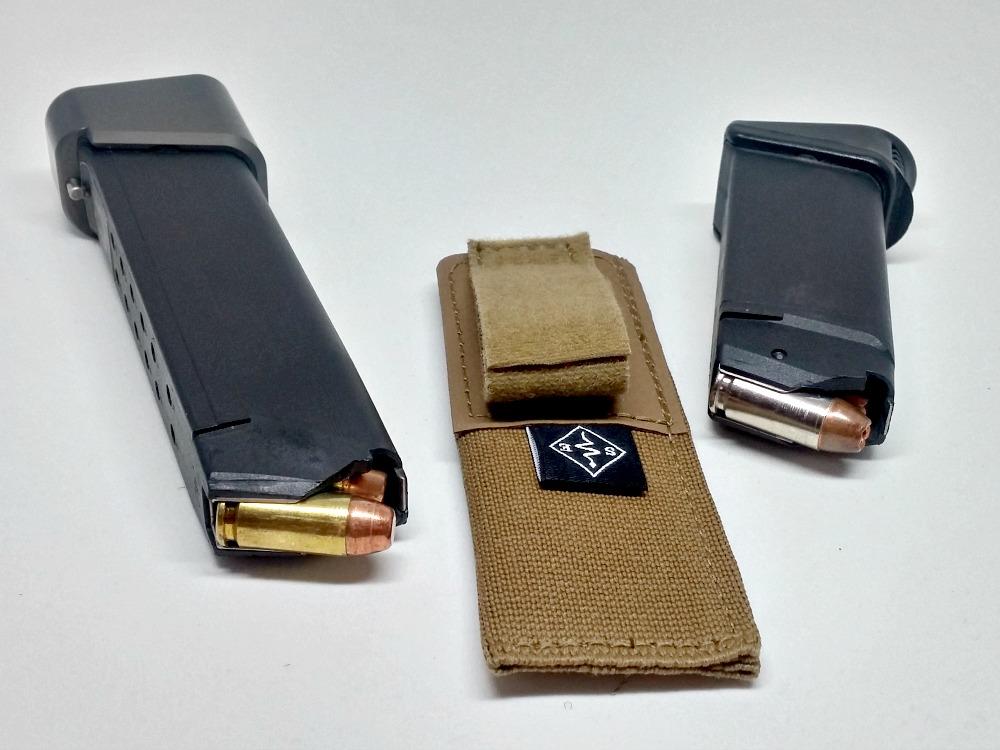 iwb mag pouch low vis profile concealed carry edc tourniquet rats