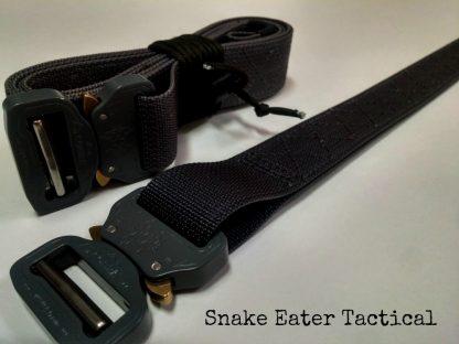 war belt battle tactical duty snake eater competition cobra buckle edc rigger gun concealed carry