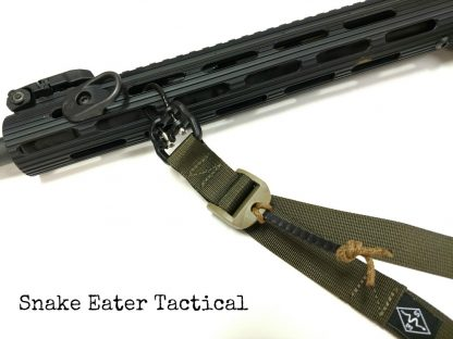 2 point rifle sling simple quick adjust snake eater tactical